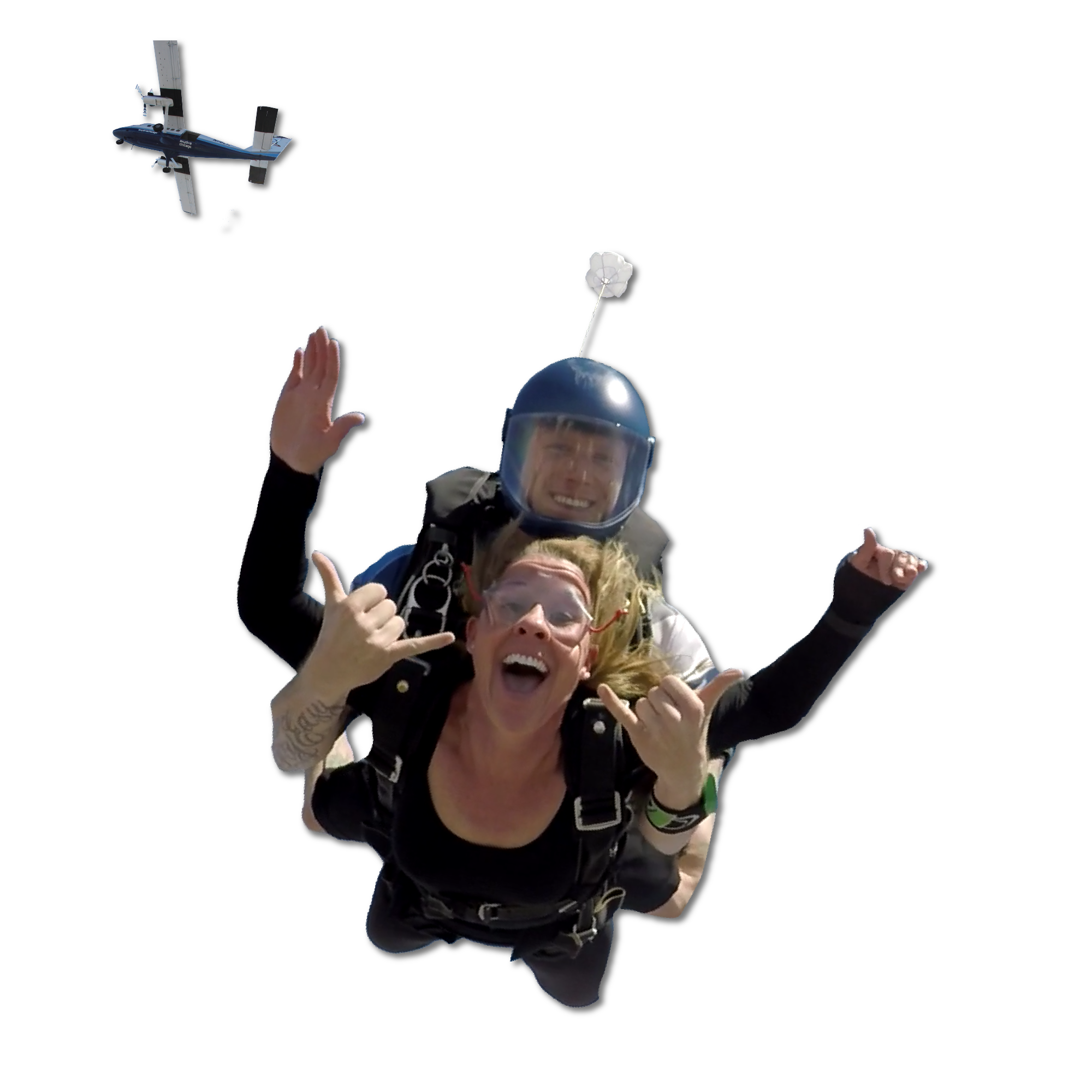 Empowerment Of Mom | Skydive Chicago