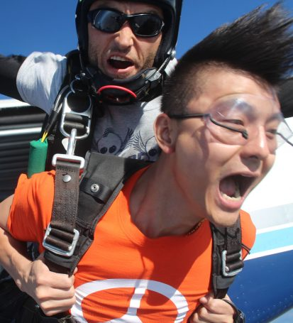 Why Starting Out Tandem Is A Good Idea | Skydive Orange