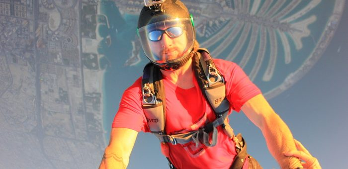 Chad Staerkel skydiver