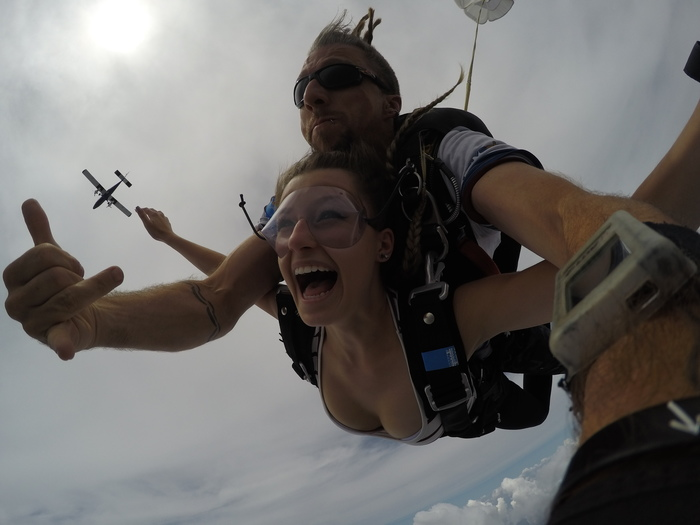 Skydiving in chicago