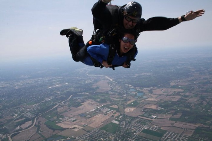 Christa Cross-skydive chicago