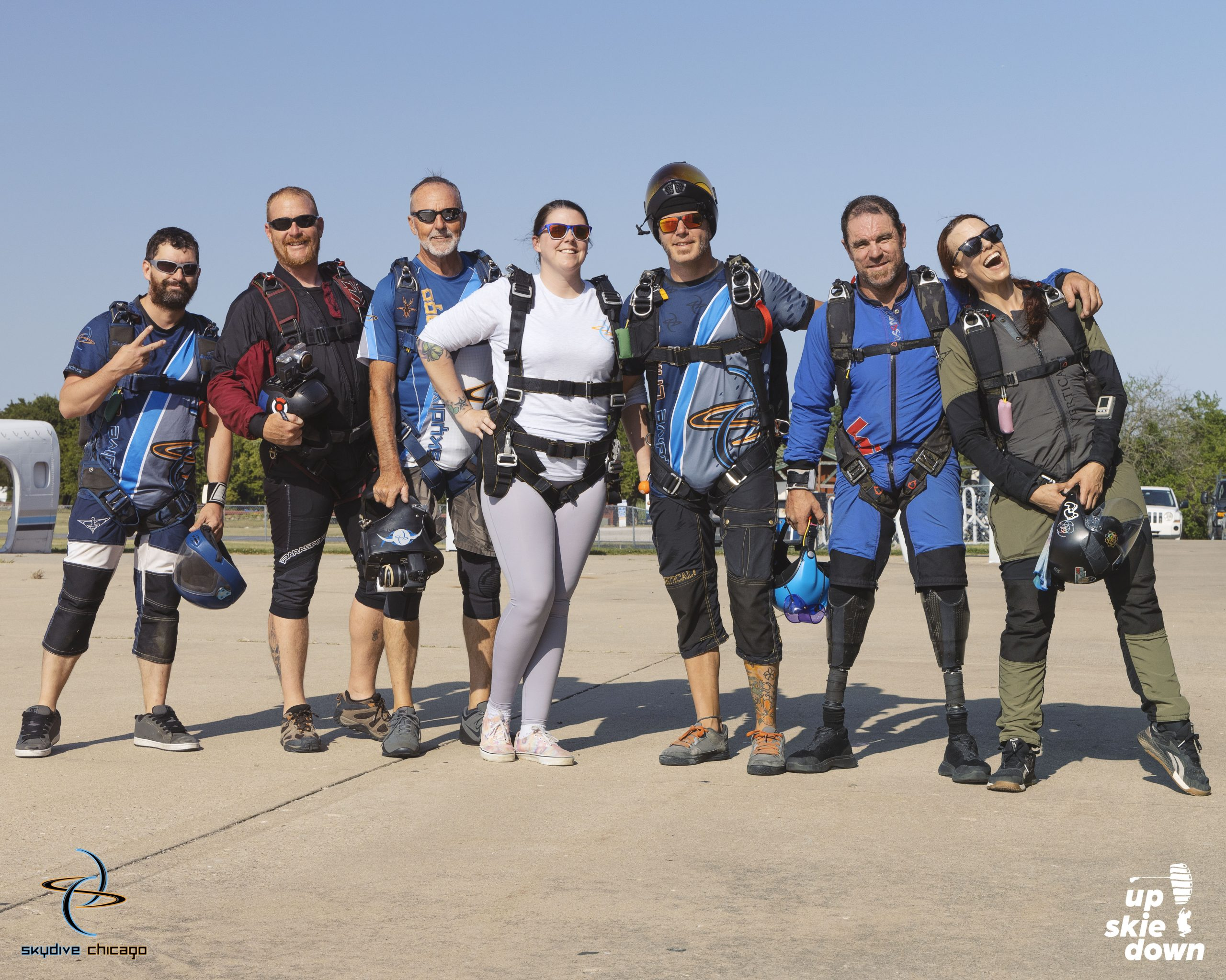 Rogers Stack 9000th Skydive
